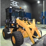 EMC Testing Mini Wheeled Loader image